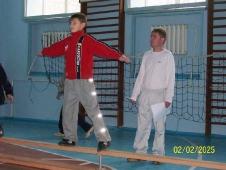 Открытый урок физкультуры