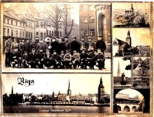 Экскурсия по западным республикам СССР. Рига